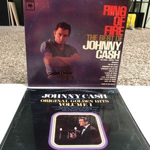 Other - Lot of 2 Johnny Cash Greatest Hits Vinyl Records